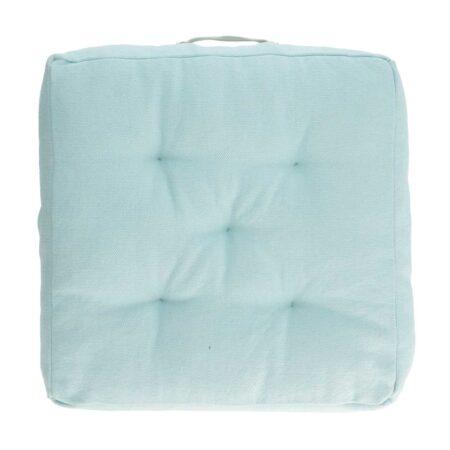 LAFORMA Sarit gulvpude - blå bomuld (60x60)