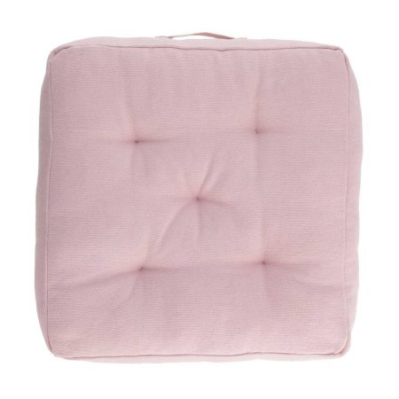 LAFORMA Sarit gulvpude - pink bomuld (60x60)